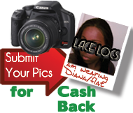 Submit Your Picture for Cash Back